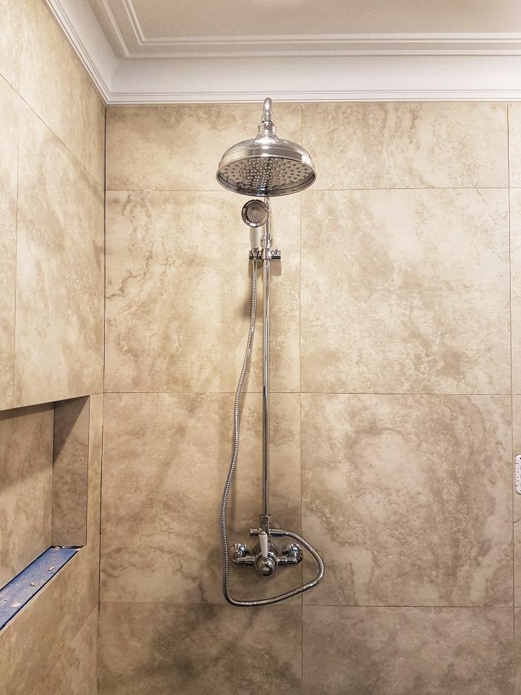 Dylsal residential shower plumbing