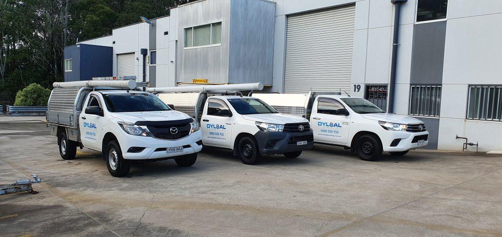 Dylsal Plumbing vehicles - Sydney plumbers